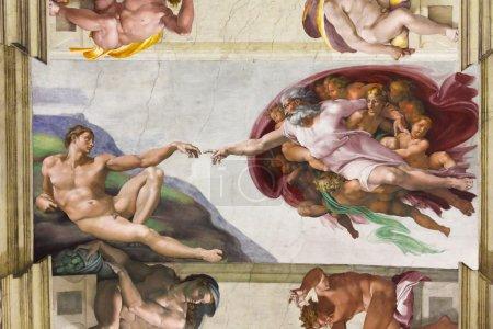 Sistine Chapel. Vatican, Italy.