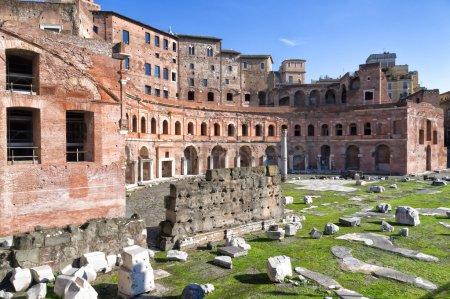 Trajan's Forum in Rome, Italy