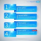 Modern infographics különböző lehetőségek elrendezés