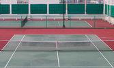 Prázdné tenisový kurt