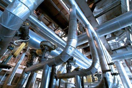 Industrial zone, Steel structures
