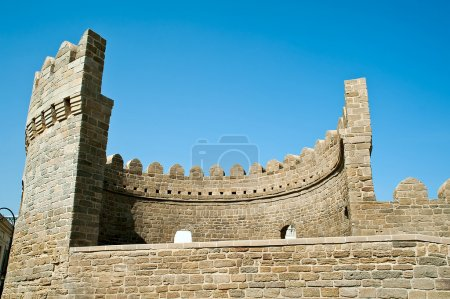 Bastion of the old town of Baku