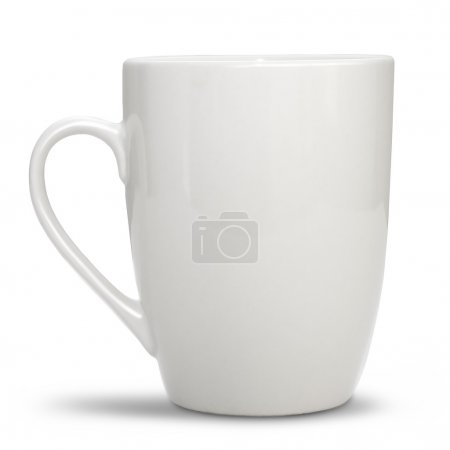 Photo for White cup - Royalty Free Image