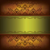 Grunge luxury background with decorative ornament