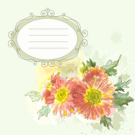 tender flowers background