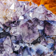Mineral crystals and stones in various structures...