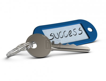 Key for success, opportunities concept