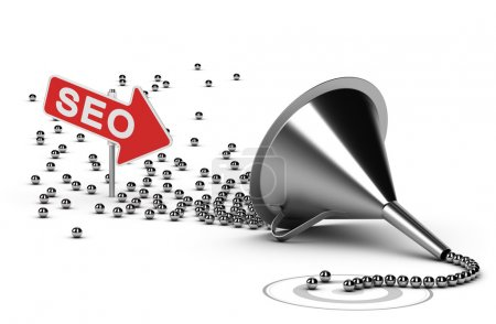 Internet SEO Campaign Concept