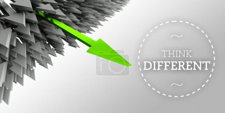 Think different with arrow individuality