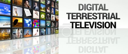 Digital terrestrial television LCD TV panels