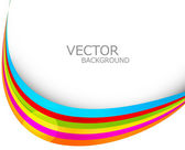 abstract colorful rainbow stylish presentation wave white backgr
