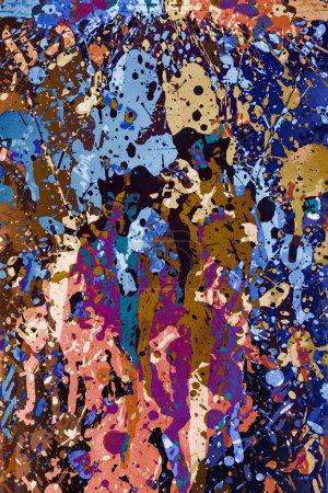 Photo pour Coloré éclaboussures conception de fond. Éclaboussures de peinture Illustration verticale . - image libre de droit