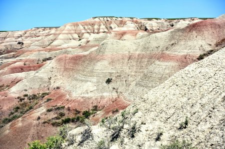 Buttes in the Badlands