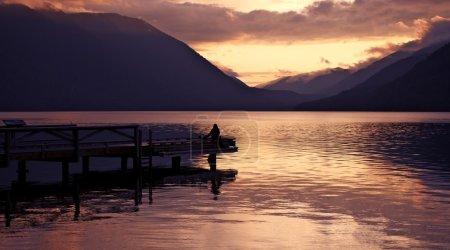 Seating on the Lake Dock