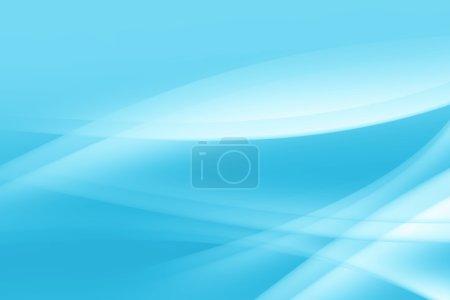 Photo pour Délicat bleu. Résumé Délicat fond bleu clair avec des éléments ondulés blancs . - image libre de droit