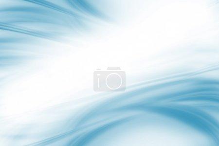 Foto de Fondo azul claro. Rayos ondulados de azul claro suave sobre fondo blanco. Colección de fondos . - Imagen libre de derechos