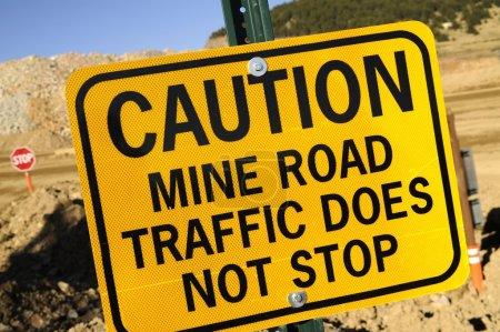 Mine Road Traffic