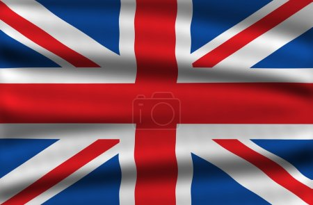 Photo pour Drapeau de Grande Bretagne / uk flag / drapeau de l'Angleterre. drapeau national. agitant illustration drapeau uk. - image libre de droit