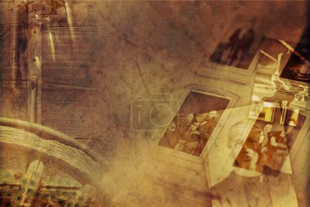 Vintage Photography Background. Old Vintage Photog...