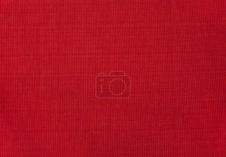 Photo for Red Fabric Backdrop. Deep Red Textile Background. - Royalty Free Image