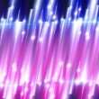 Glowing Lights Abstract Background. Purple and Pin...