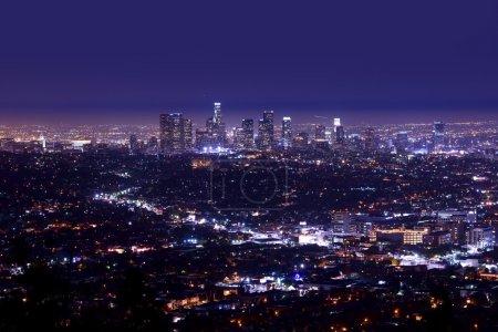 Лос-Анджелесское ночное небо