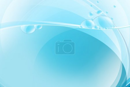 Blue Liquid Background