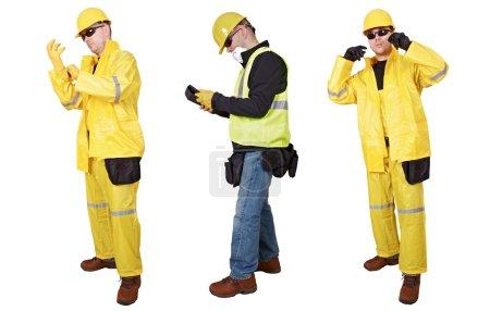 Contractors Poses