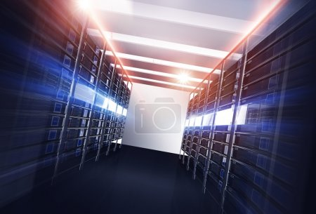 Datacenter Servers Alley
