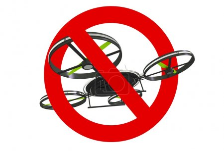 Drone Use Prohibited Sign