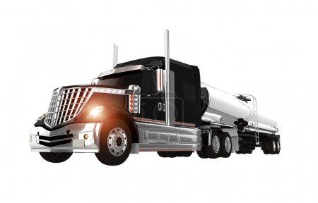 Chromed Tanker Truck