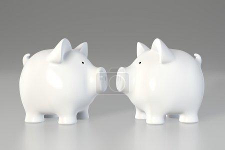 Piggy bank - vis á vis