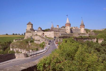 Old Castle Kamenetz-Podolsk - medieval castle town of Kamenetz-Podolsk, one of the historical monuments of Ukraine.