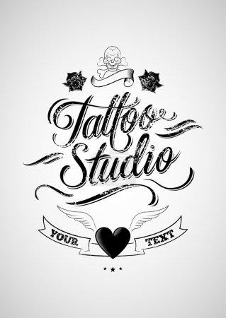 Tattoo studio.