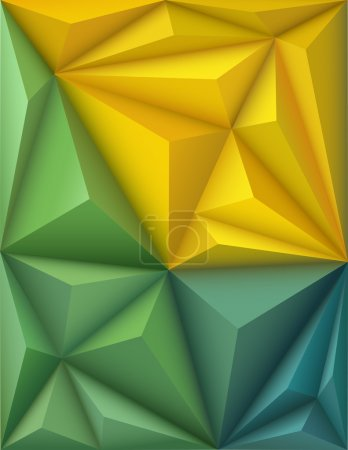 Abstract background in origami style