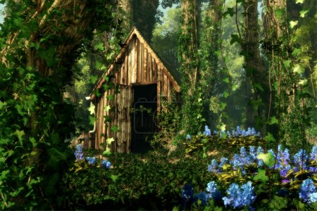 The Old Hut, 3d CG Graphics