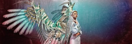 Light Angel 3d CG