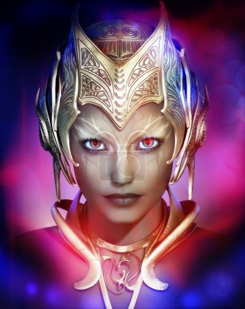 Dark Fairy, 3d CG