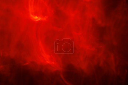 Abstract Fire Background with Flames