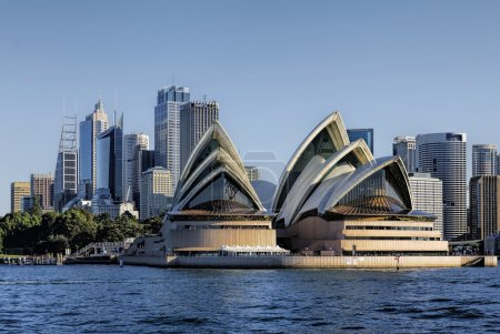 Photo for View of Sydney Skyline and Opera House - Royalty Free Image