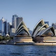 View of Sydney Skyline and Opera House...