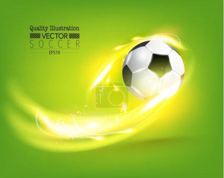 Creative Soccer Football Sport Vector Illustration