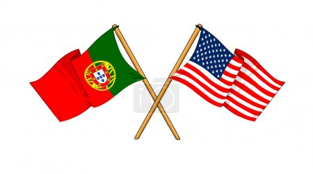 America and Portugal alliance and friendship