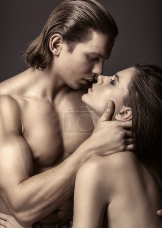 Beautiful loving couple
