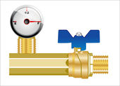 Industrial pipeline and Gas valve