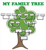 Concept illustration: family tree