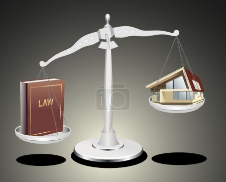 Protection of the rights of a private property, to...