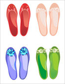 Cheerful summer shoes