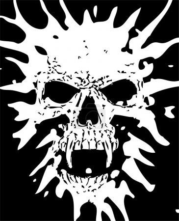 czaszka diabeł