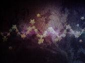 Abstraktní zářící hvězdy